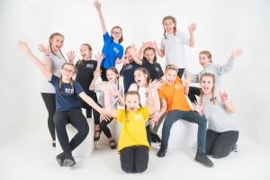 Rackheath Youth Theatre Studio shoot