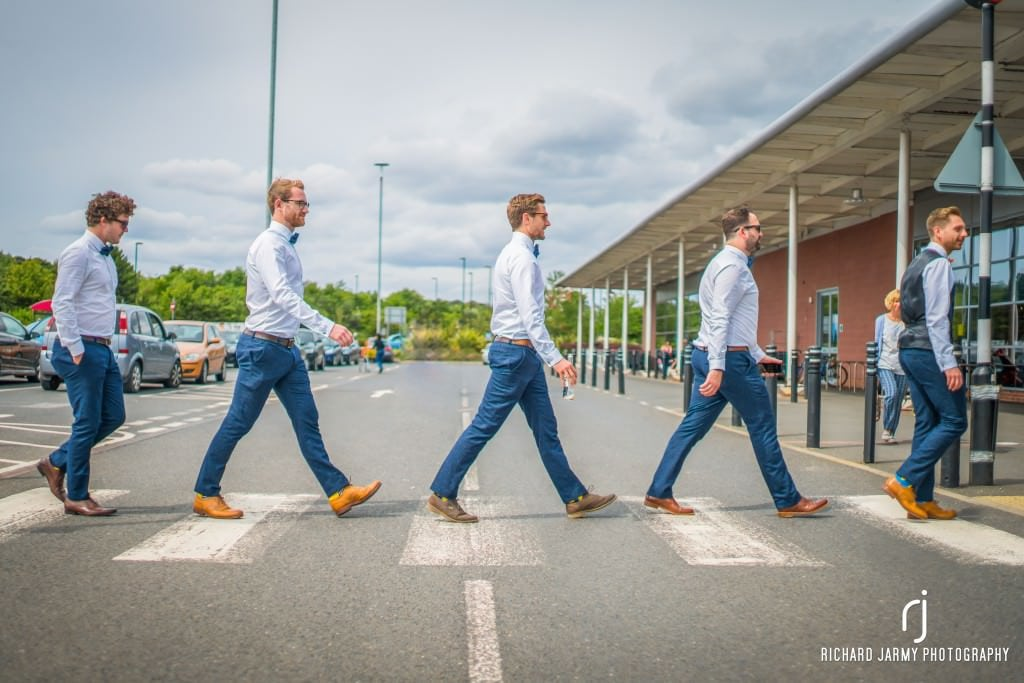 Holly & Rick - Sainsburys - The Beatles - Zebra Crossing - Richard Jarmy Photography - Wedding commercial event Photographer