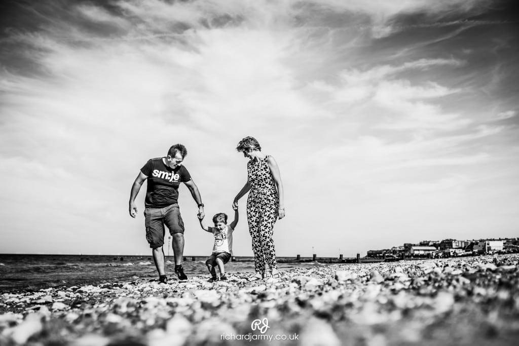 Pop Up Photoshoot - Hunstanton Beach - Family - Richard Jarmy Photography - Wedding commercial event Photographer