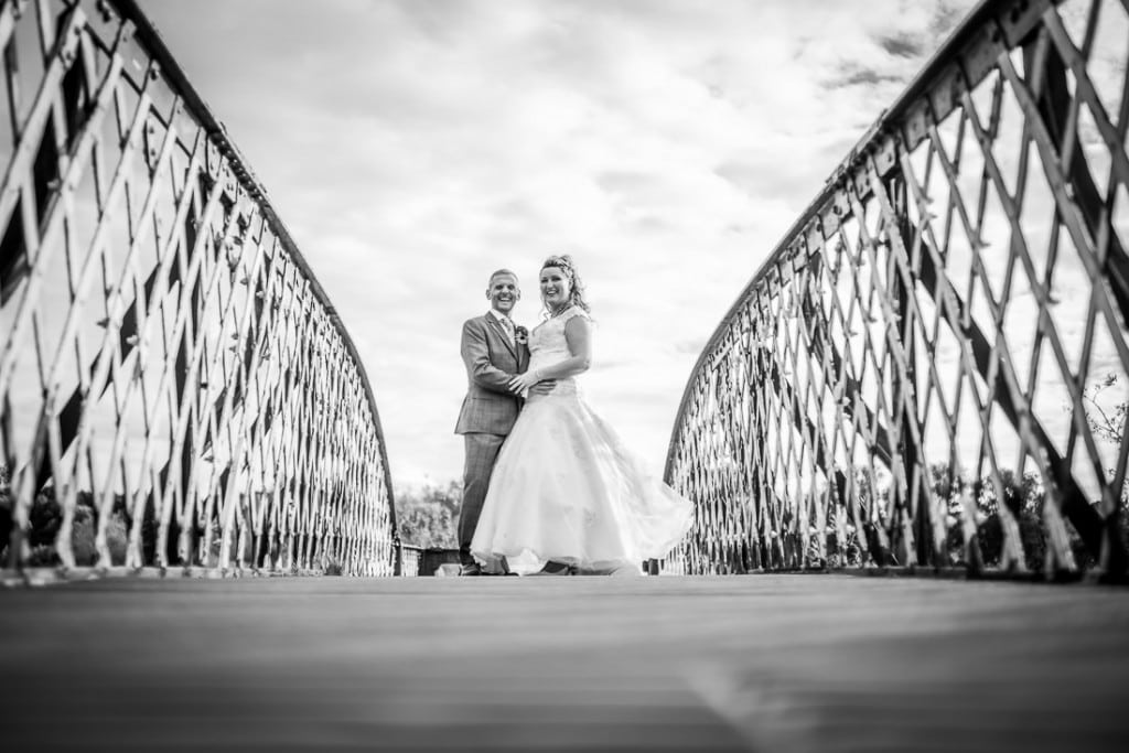 Lucy & Paul - Whittlingham Broad Rail Tracks