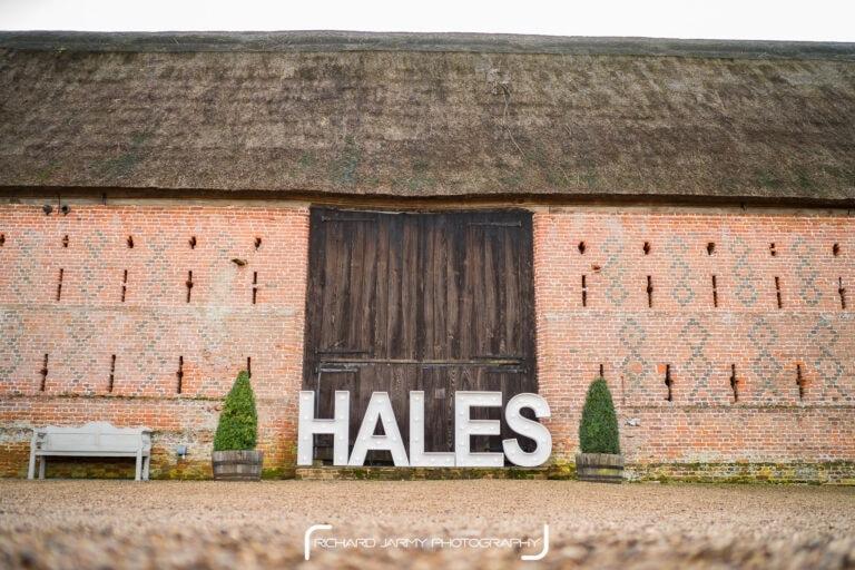 Hales Hall and Great Barn Creative Wedding Show