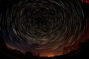 Richard Jarmy Photography Startrail with Harry Potter and Doctor Who