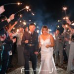 Lucy & James - Waxham Barns Wedding Sparklers