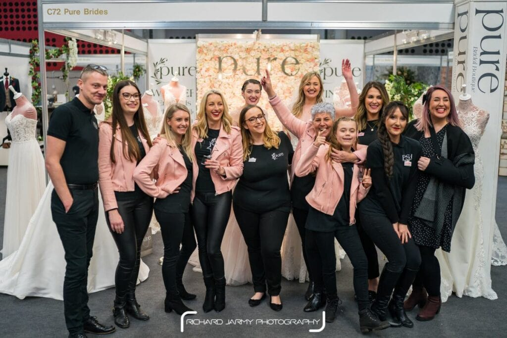 Pure Brides at EDP Bride Wedding Show 2020
